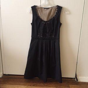Elie Tahari black dress 0